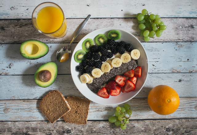 fruit breakfast avocado