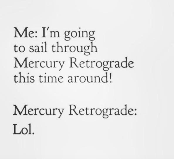 Image result for mercury retrograde
