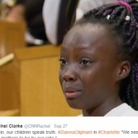 This 9-year-old Girl from Charlotte gave a Heartbreaking Speech that all of America Needs to Hear.