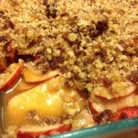 Raw Apple Crumble. {Vegan Recipe}
