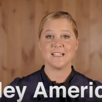 Amy Schumer warns: You'll be this unless you Vote.