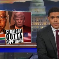 Nobody on the Planet knows what Donald Trump is going to do, but South Africa can Help.