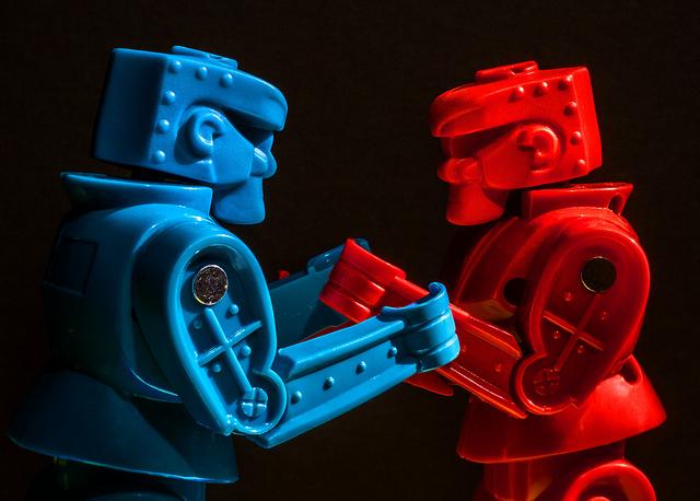 red vs blue politics taking sides democrats republicans