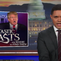 Trevor Noah finally figures out how to defeat Trump's endless Lies.