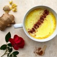 Ayurvedic Golden Milk for Cold Winter Days. {Vegan Recipe}
