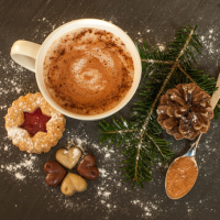 Energy Balancing Vegan Hot Chocolate. {Recipe}