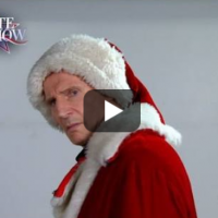 What Happened when Liam Neeson Auditioned for Mall Santa Claus. {Funny Video}
