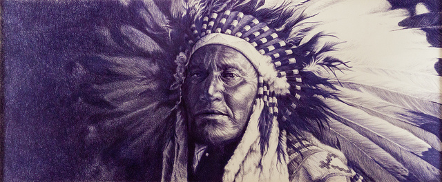 native american art ink