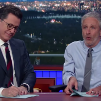 In an Epic Comeback, Jon Stewart just told the Media What's Up. {Video}