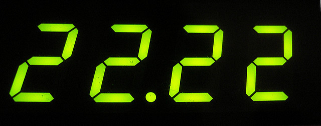 The Reason we Keep Seeing the Numbers 2, 22, 222 or 2222 ...