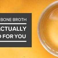 Why Bone Broth is basically Bad for You.