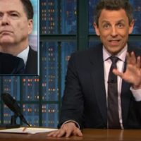 The confusing Comey Hearing: Seth Meyer's Humour sheds Light.