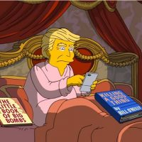 The Simpsons recap Trump's First 100 Days in Office. {Video}