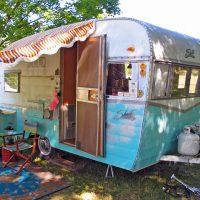 This Description of Vintage Camper Heaven is No Joke.