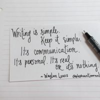 10 Mindful Writing & Social Media Tips from Waylon Lewis.
