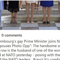 The WAGs Photo from the NATO Conference is the Best Thing I've Seen Today.