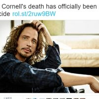 In the Wake of Chris Cornell's Death: a Letter to Artists & Broken Souls.