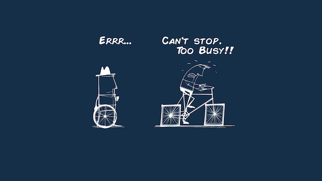 being busy all the time is not a good thing elephant journal