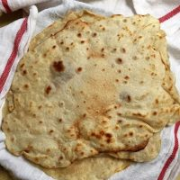 How to make Delicious Vegan Flour Tortillas. {Recipe}