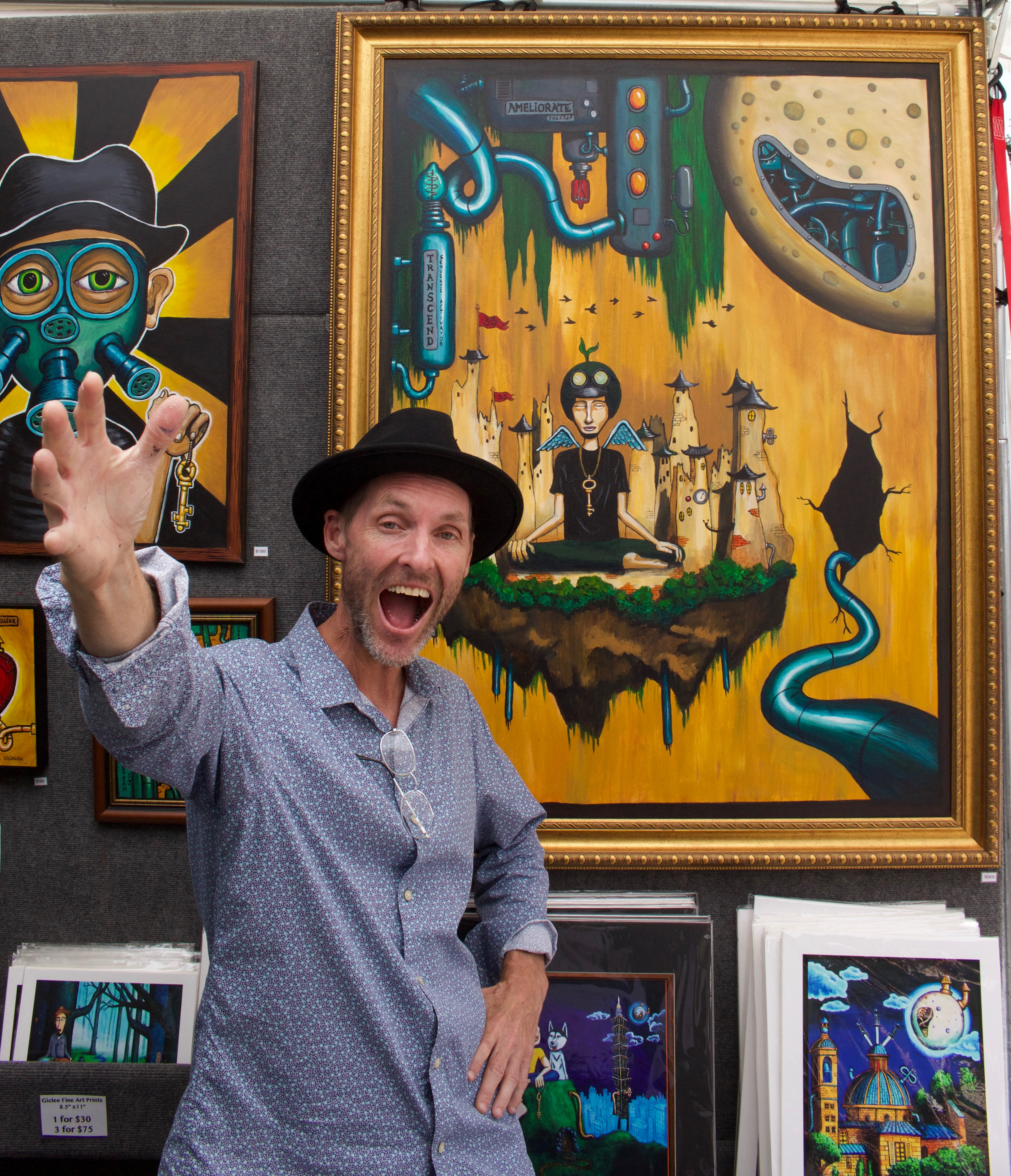 Meet the Artist who Paints your Life to help find the Key to your Dreams.