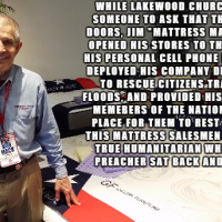 The Hero of Houston: Mattress Mack, the anti-Osteen.