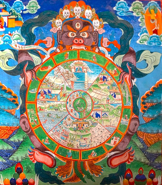 The three poisons the root of suffering how to overcome it elephant journal - Mandalas cycle 3 ...