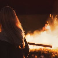 "3 Ladies & a Campfire: Letting Go with our own ""Burning Man."""