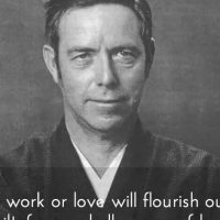 The Words by Alan Watts that Woke me Up Last Night.