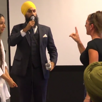 Woman goes on Racist Rant & Canadian Sikh Responds Perfectly.