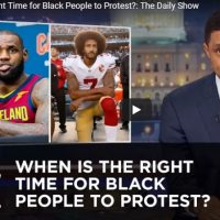 Trevor Noah (& Dr. Seuss) explain When & How Black People can Protest in America.