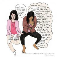 These Cartoons Totally Nail Postpartum Depression.