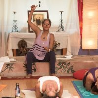Waylon with yoga teacher Nikki Myers on how to work with Addiction.