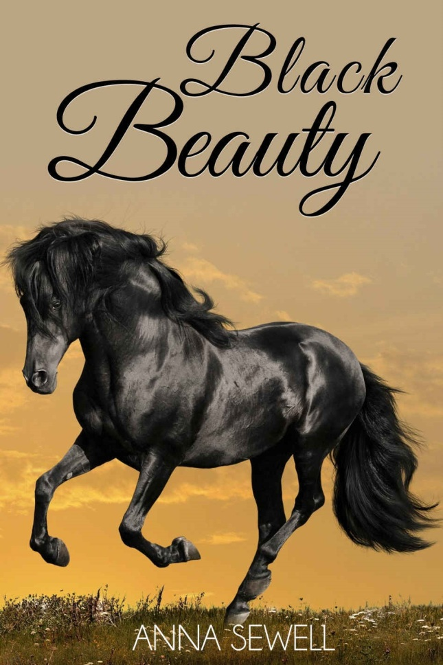 Book Cover Of Black Beauty : The rehabilitative depression healing nature of horses