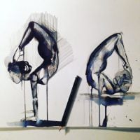 Artist captures the Essence of Yoga in these Illustrations.