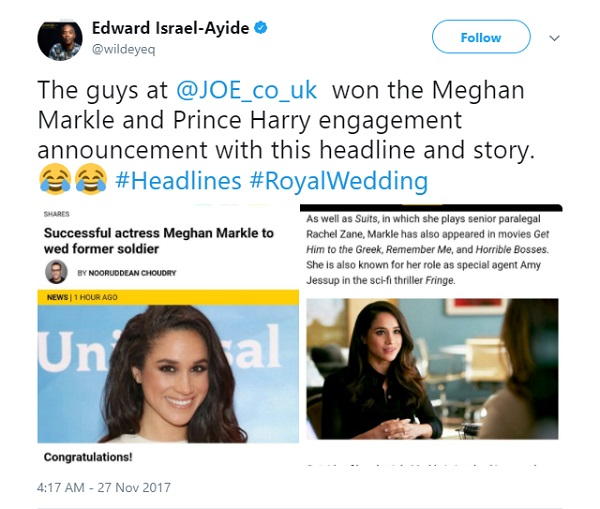 The Royal Engagement Headline That Warmed My Feminist