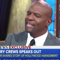 "Terry Crews was allegedly sexually assaulted by a prominent industry leader. Russell Simmons told him to ""give the agent a pass."" Here's Terry Crews' reply:"