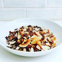 Chocolate Almond Joy Oatmeal. {Recipe}