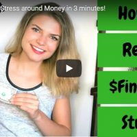 Some Quick Tips to help us stop Stressing over Money.