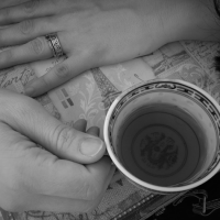 I found my Breath in an imperfect Cup of Tea.