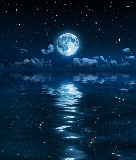 Rare super blue blood moon lunar eclipse kickstarts a new for Blue moon mural