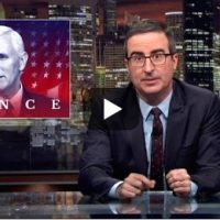 "Oliver vs. Pence---Why I won't be buying John Oliver's ""Controversial"" Book."