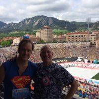 The Bolder Boulder—the biggest community-est 10K in the world.