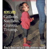 """Children in cages. Dear God, what have we become?"""