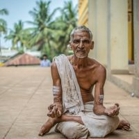 The Brave Aging Yogi.