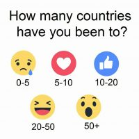 Why I won't tell you How Many Countries I've Visited.