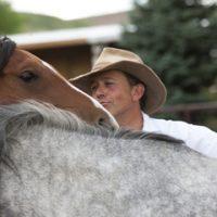 Naropa University Authentic Leadership Program at Twin Oaks Farm: Horses as Teachers.