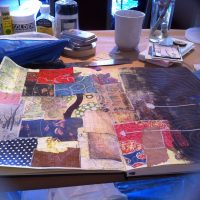 A Simple Cure to Writer's Block—inspired by Art Journaling.
