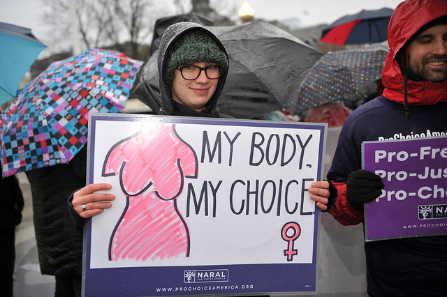 Lifting the veil of shame on abortions and protecting Roe v Wade