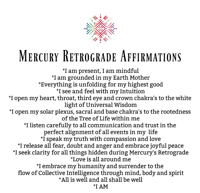 Crack Open your Heart & Ease your Journey with these Mercury