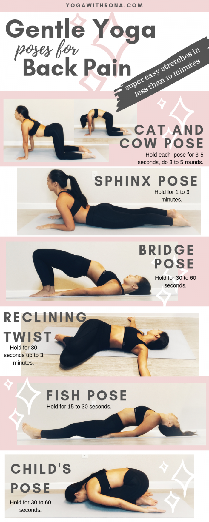 Yoga Poses For Back Pain Pictures